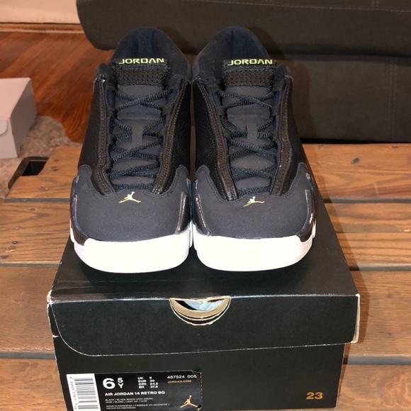 "brand new 81979 4fcf2 Jordan Shoes - Air Jordan 14 retro ""indiglo"""
